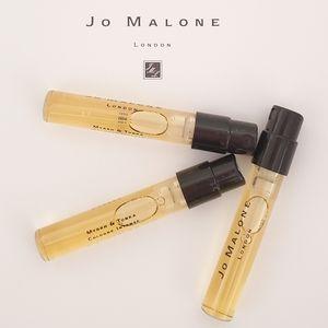 Jo Malone Myrrh & Tonka Sample Spray Vials THREE
